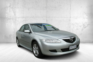 2005 Mazda 6 GG1031 MY04 Classic Silver Contrail 4 Speed Sports Automatic Sedan.