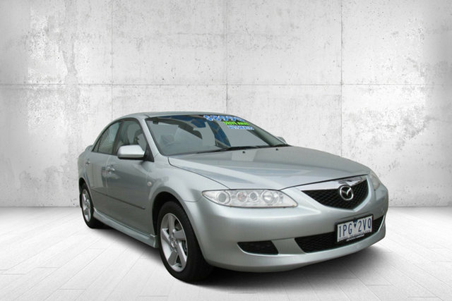 Used Mazda 6 GG1031 MY04 Classic, 2005 Mazda 6 GG1031 MY04 Classic Silver Contrail 4 Speed Sports Automatic Sedan