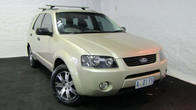 Used Ford Territory SY SR2 RWD, 2008 Ford Territory SY SR2 RWD Gold 4 Speed Sports Automatic Wagon