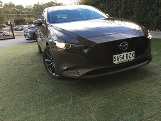2019 Mazda 3 BP2H76 G20 SKYACTIV-MT Touring Titanium Flash 6 Speed Manual Hatchback.
