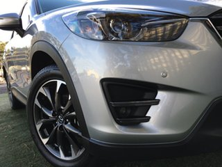 2017 Mazda CX-5 KE1032 Grand Touring SKYACTIV-Drive i-ACTIV AWD Billet Silver 6 Speed.