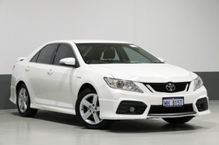2013 Toyota Aurion GSV50R Sportivo ZR6 White 6 Speed Automatic Sedan.