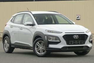 2017 Hyundai Kona OS MY18 Active 2WD White 6 Speed Sports Automatic Wagon.