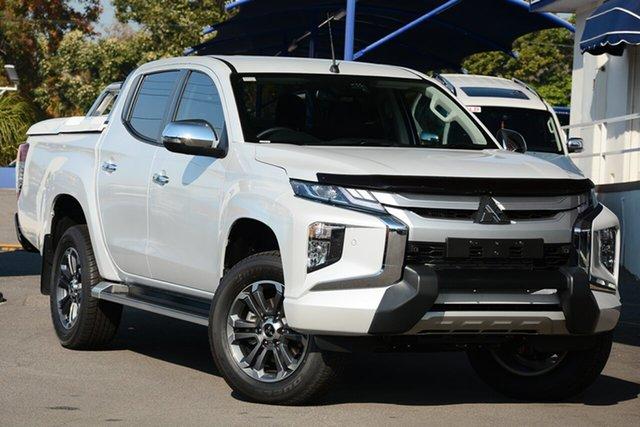 New Mitsubishi Triton MR MY19 GLS Double Cab Premium, 2018 Mitsubishi Triton MR MY19 GLS Double Cab Premium White Diamond 6 Speed Sports Aut Utility