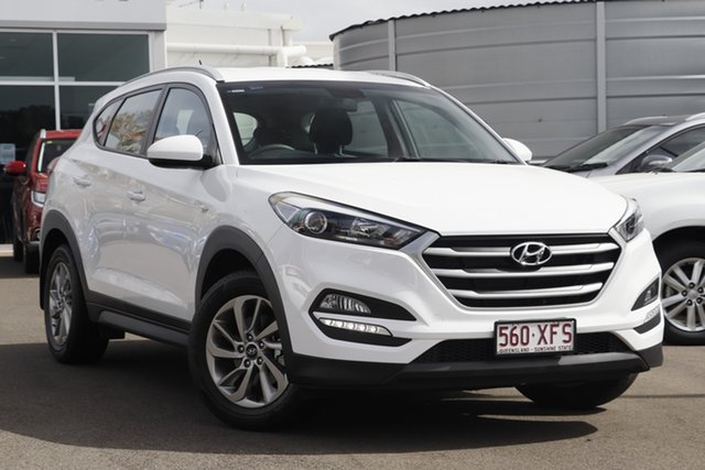 Used Hyundai Tucson TLe MY17 Active 2WD, 2017 Hyundai Tucson TLe MY17 Active 2WD White 6 Speed Sports Automatic Wagon