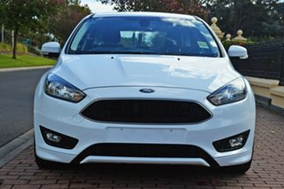 2018 Ford Focus LZ Sport White 6 Speed Manual Hatchback