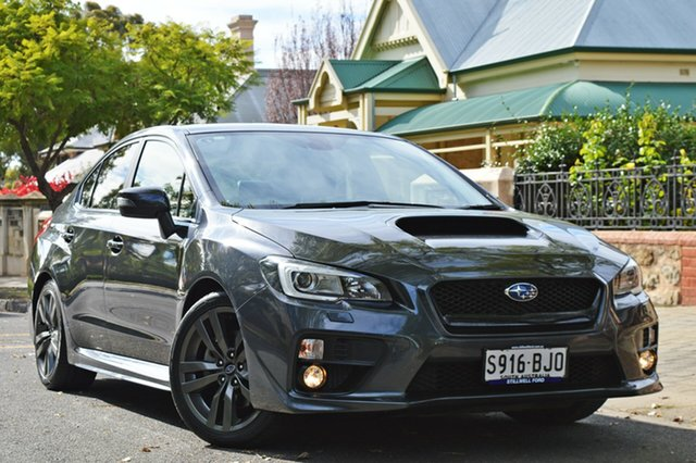 Used Subaru WRX V1 MY16 Premium Lineartronic AWD, 2016 Subaru WRX V1 MY16 Premium Lineartronic AWD Grey 8 Speed Constant Variable Sedan