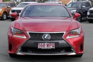 2016 Lexus RC ASC10R RC200t Luxury Red 8 Speed Sports Automatic Coupe.