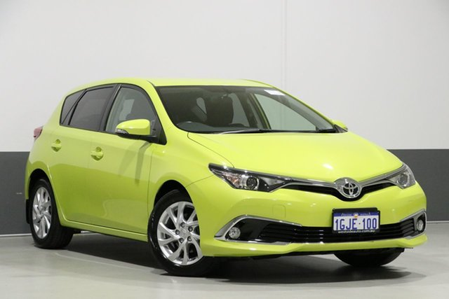 Used Toyota Corolla ZRE182R MY15 Ascent Sport, 2017 Toyota Corolla ZRE182R MY15 Ascent Sport Green 7 Speed CVT Auto Sequential Hatchback