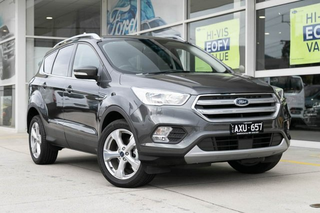Demo Ford Escape ZG 2018.00MY Trend 2WD, 2018 Ford Escape ZG 2018.00MY Trend 2WD Grey 6 Speed Sports Automatic Wagon