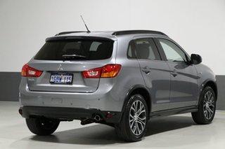 2016 Mitsubishi ASX XB MY15.5 LS (2WD) Silver Continuous Variable Wagon