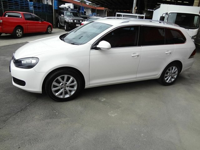 Used Volkswagen Golf 1K MY11 103 TDI Comfortline, 2010 Volkswagen Golf 1K MY11 103 TDI Comfortline White 6 Speed Direct Shift Wagon