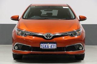2017 Toyota Corolla ZRE182R MY15 Ascent Sport Orange 7 Speed CVT Auto Sequential Hatchback.