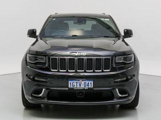 2015 Jeep Grand Cherokee WK MY15 SRT 8 (4x4) Black 8 Speed Automatic Wagon.