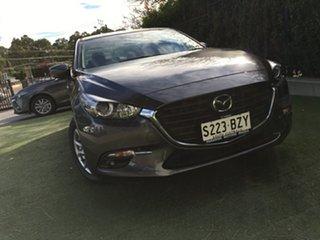 2018 Mazda 3 BN5276 Maxx SKYACTIV-MT Sport Machine Grey 6 Speed Manual Sedan.