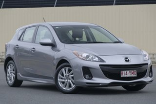 2012 Mazda 3 BL10F2 MY13 Maxx Sport Silver 6 Speed Manual Hatchback.