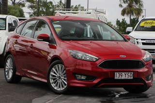 2018 Ford Focus LZ Sport Red 6 Speed Automatic Hatchback.