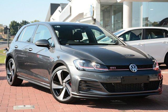 New Volkswagen Golf 7.5 MY19.5 GTI DSG, 2019 Volkswagen Golf 7.5 MY19.5 GTI DSG Indium Grey 7 Speed Sports Automatic Dual Clutch Hatchback
