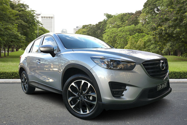 Used Mazda CX-5 KE1032 Grand Touring SKYACTIV-Drive i-ACTIV AWD, 2017 Mazda CX-5 KE1032 Grand Touring SKYACTIV-Drive i-ACTIV AWD Billet Silver 6 Speed
