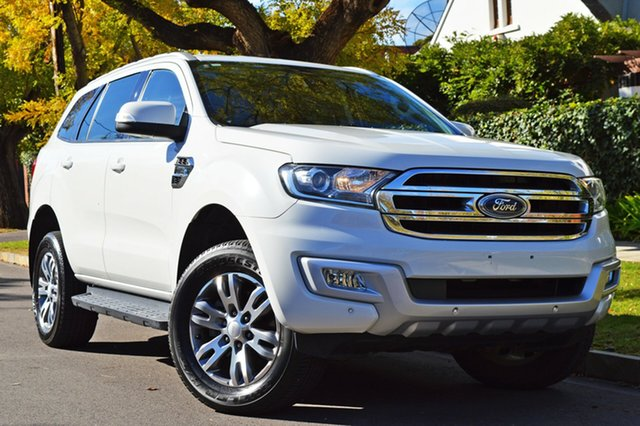 Used Ford Everest UA Trend 4WD, 2015 Ford Everest UA Trend 4WD White 6 Speed Sports Automatic Wagon