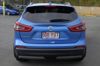 2018 Nissan Qashqai J11 Series 2 Ti X-tronic Vivid Blue 1 Speed Constant Variable Wagon