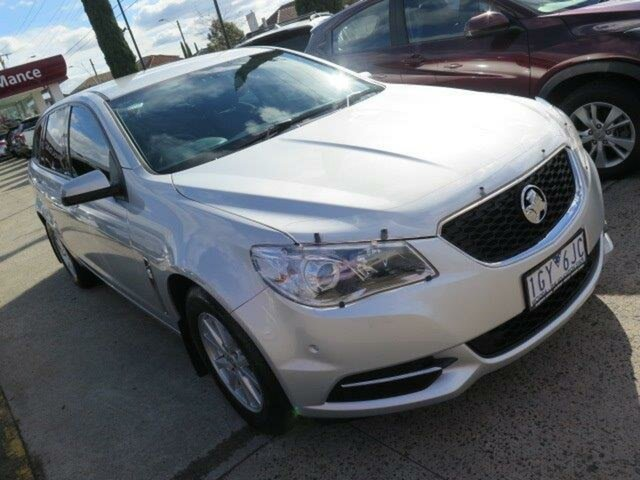 Used Holden Commodore VF II MY16 Evoke Sportwagon, 2016 Holden Commodore VF II MY16 Evoke Sportwagon Nitrate Silver 6 Speed Sports Automatic Wagon