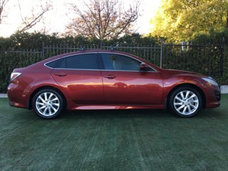 2012 Mazda 6 GH1052 MY12 Touring Red 5 Speed Sports Automatic Hatchback.