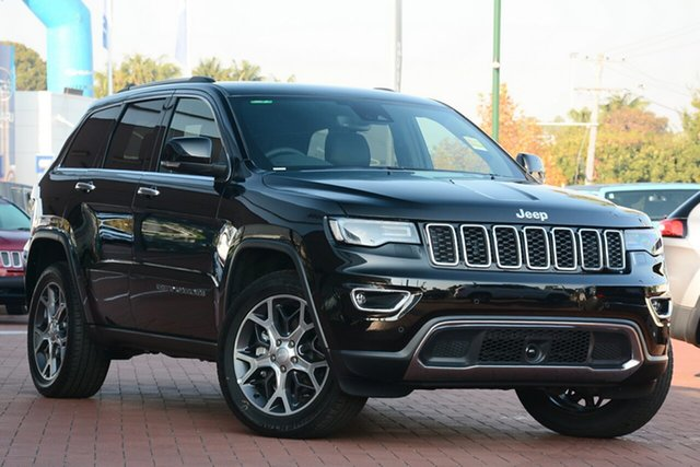 New Jeep Grand Cherokee WK MY19 Limited, 2019 Jeep Grand Cherokee WK MY19 Limited Diamond Black Crystal 8 Speed Sports Automatic Wagon
