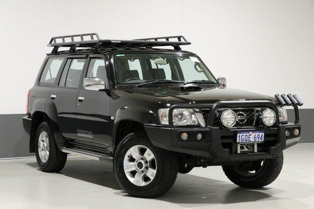 Used Nissan Patrol GU Series 9 ST N-Trek, 2015 Nissan Patrol GU Series 9 ST N-Trek Black 4 Speed Automatic Wagon
