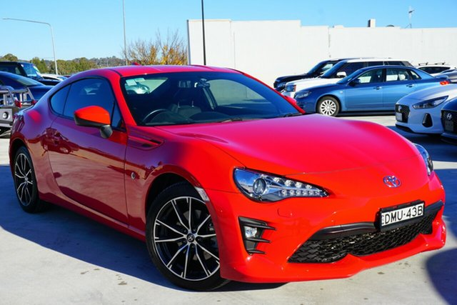 Used Toyota 86 ZN6 GTS, 2017 Toyota 86 ZN6 GTS Red 6 Speed Sports Automatic Coupe