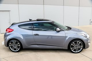 2015 Hyundai Veloster FS4 Series II + Coupe D-CT 6 Speed Sports Automatic Dual Clutch Hatchback