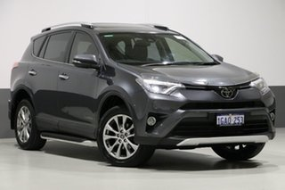 2016 Toyota RAV4 ALA49R MY16 Cruiser (4x4) Grey 6 Speed Automatic Wagon.