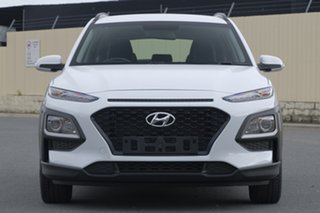 2017 Hyundai Kona OS MY18 Active 2WD White 6 Speed Sports Automatic Wagon