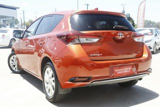 2017 Toyota Corolla ZRE182R MY17 Ascent Sport Orange 7 Speed CVT Auto Sequential Hatchback.