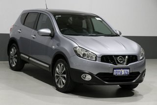 2012 Nissan Dualis J10 Series 3 TI (4x2) Grey 6 Speed CVT Auto Sequential Wagon