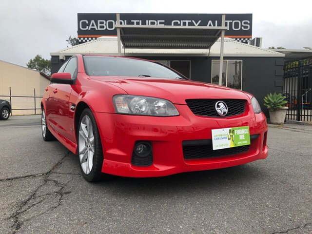 Used Holden Commodore VE II SV6, 2011 Holden Commodore VE II SV6 Red 6 Speed Sports Automatic Sedan