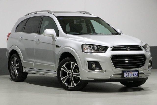 Used Holden Captiva CG MY18 7 LTZ (AWD), 2018 Holden Captiva CG MY18 7 LTZ (AWD) Silver 6 Speed Automatic Wagon