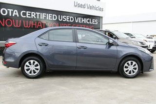 2017 Toyota Corolla ZRE172R Ascent Grey 7 Speed CVT Auto Sequential Sedan