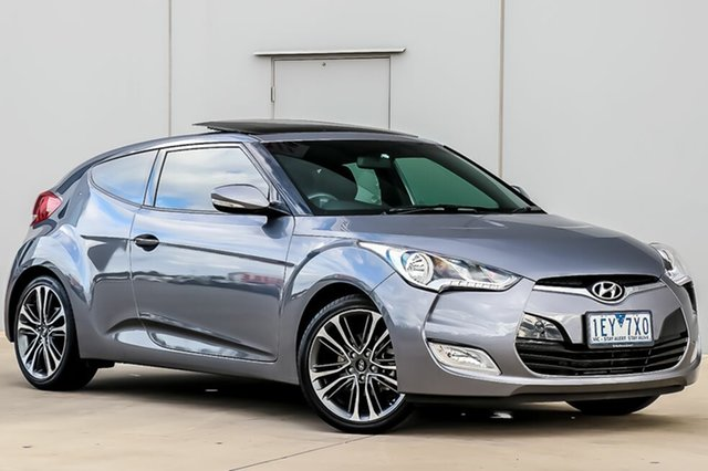 Used Hyundai Veloster FS4 Series II + Coupe D-CT, 2015 Hyundai Veloster FS4 Series II + Coupe D-CT 6 Speed Sports Automatic Dual Clutch Hatchback