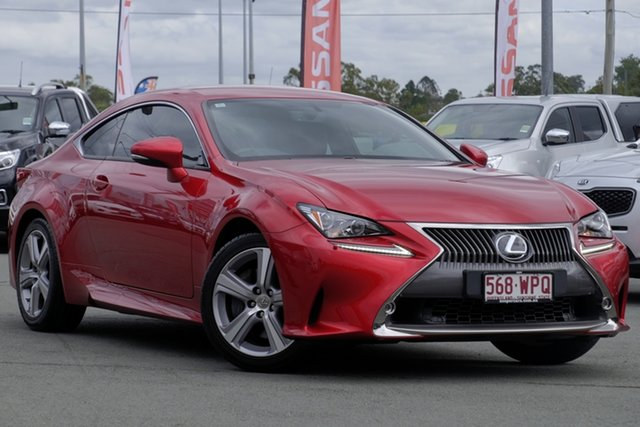 Used Lexus RC ASC10R RC200t Luxury, 2016 Lexus RC ASC10R RC200t Luxury Red 8 Speed Sports Automatic Coupe