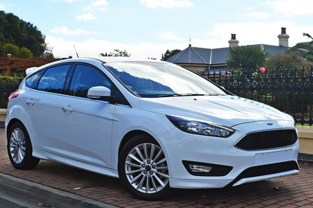 Used Ford Focus LZ Sport, 2018 Ford Focus LZ Sport White 6 Speed Manual Hatchback