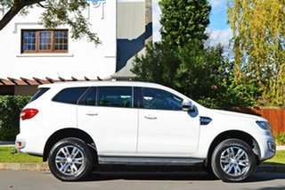 2015 Ford Everest UA Trend 4WD White 6 Speed Sports Automatic Wagon.