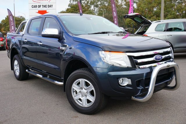 Used Ford Ranger PX XLT Double Cab, 2015 Ford Ranger PX XLT Double Cab Grey 6 Speed Sports Automatic Utility