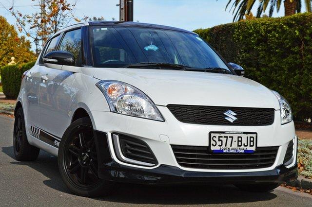 Used Suzuki Swift FZ MY15 GL, 2015 Suzuki Swift FZ MY15 GL White 4 Speed Automatic Hatchback