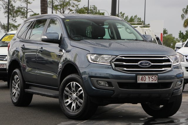 Used Ford Everest UA II 2019.00MY Trend 4WD, 2018 Ford Everest UA II 2019.00MY Trend 4WD Blue 6 Speed Sports Automatic Wagon