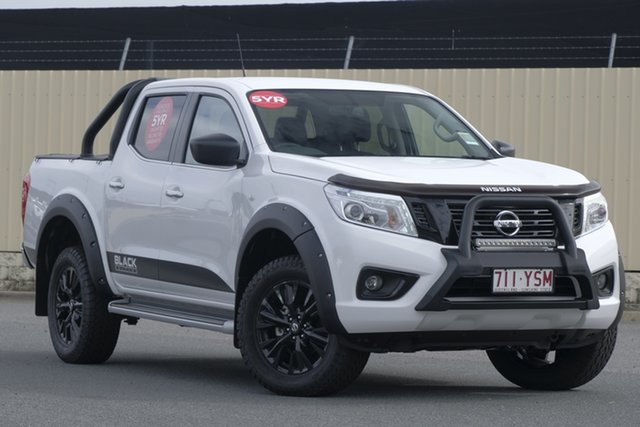 Demo Nissan Navara D23 S3 ST Black Edition, 2018 Nissan Navara D23 S3 ST Black Edition Polar White 7 Speed Sports Automatic Utility