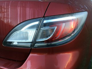 2012 Mazda 6 GH1052 MY12 Touring Red 5 Speed Sports Automatic Hatchback