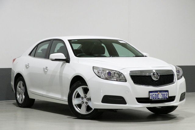 Used Holden Malibu EM MY15 CD, 2016 Holden Malibu EM MY15 CD White 6 Speed Automatic Sedan