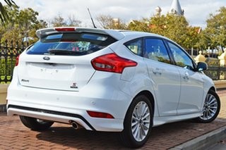2018 Ford Focus LZ Sport White 6 Speed Manual Hatchback.