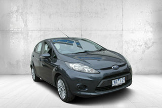 2013 Ford Fiesta WT LX PwrShift Grey 6 Speed Sports Automatic Dual Clutch Hatchback.